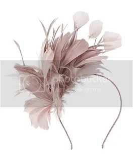 p8 Natalie Feather Corsage Hairband