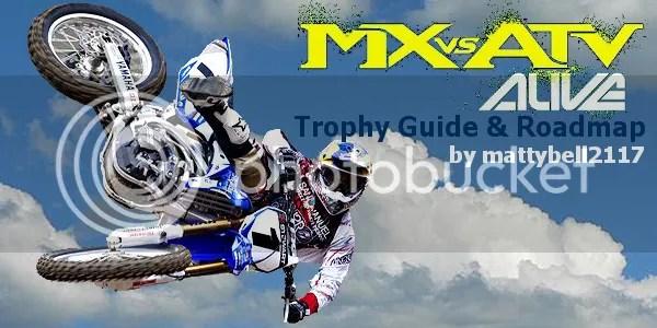 Mx Vs Atv Alive Trophy Guide MX Vs ATV Alive