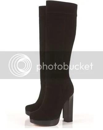 Topshop Knee High Bevan Seventies Boots