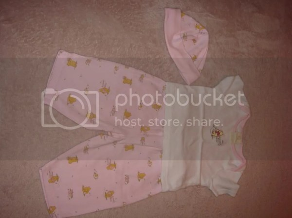 Disney Baby 0-3 Month 3 Piece Outfit! Short Sleeve Shirt ...