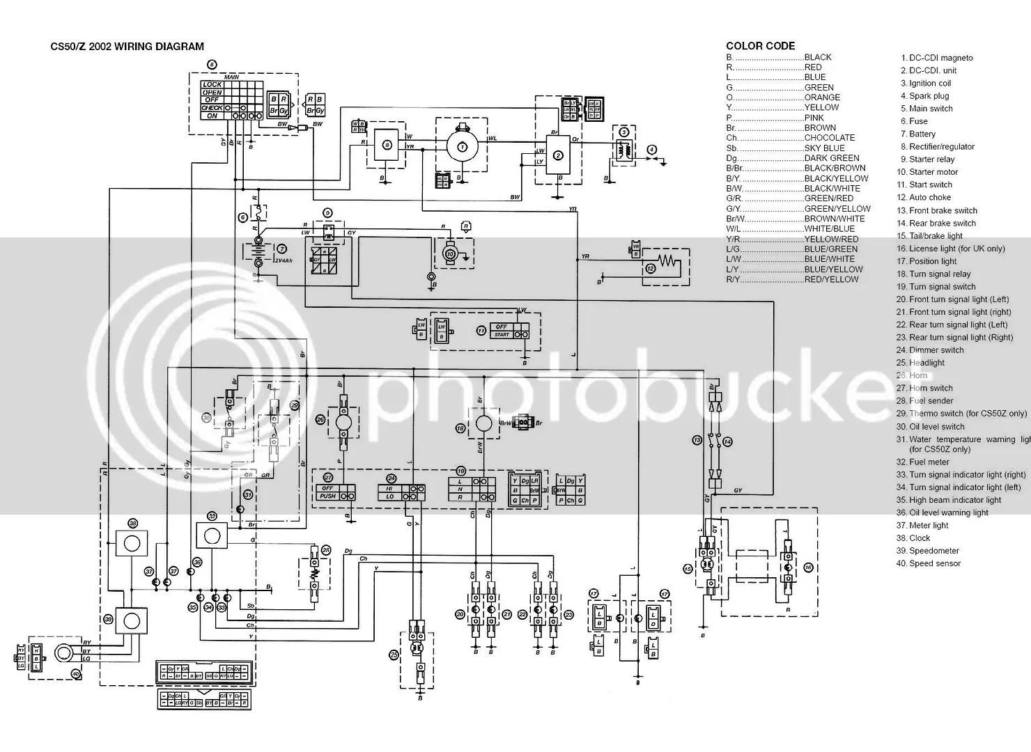 Yamaha Jog R Wiring Diagram