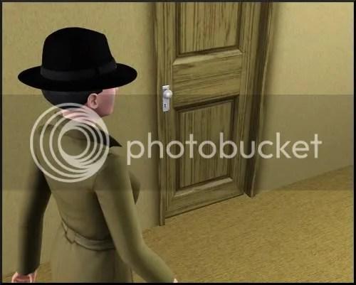 gah, no door opening animation