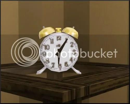 evil clock