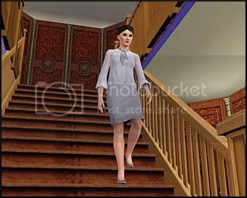 one more textless picture than Trip, but it seemed necessary to show her leaving the bedroom and going downstairs.