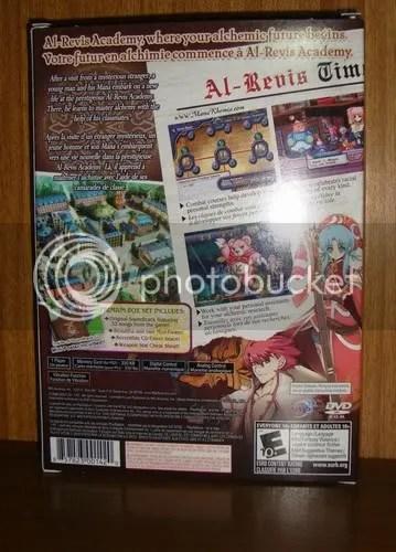 Verso da Embalagem que vem com o DVD e o CD - com Flash