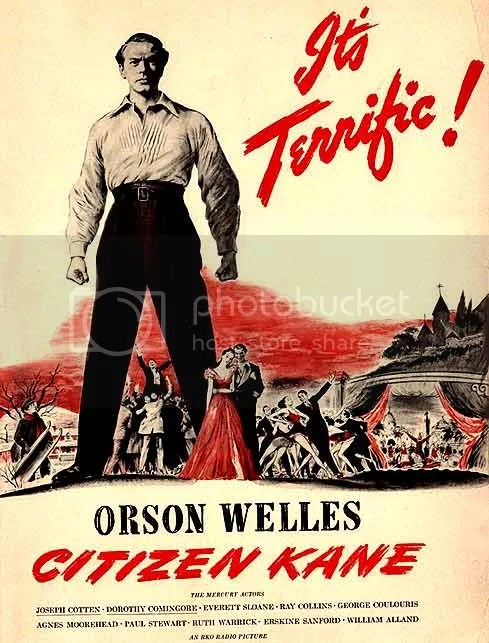 Why is it terrific?  Cause hes CHARLES FOSTER KANE!