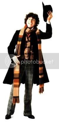 The Doctor appreciates a fine scarf