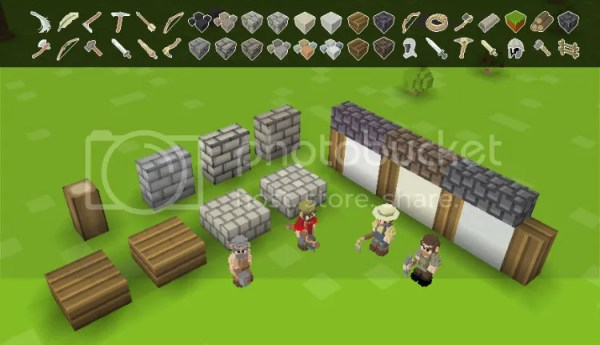 Timber and Stone - Graphical Representation Timber and Stone Timber and Stone (PC) Review blocksandtiles 1