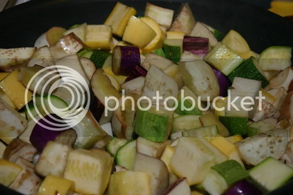 Zucchini and Eggplant