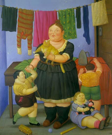 """Résultat de recherche d'images pour """"fernando botero peinture"""""""