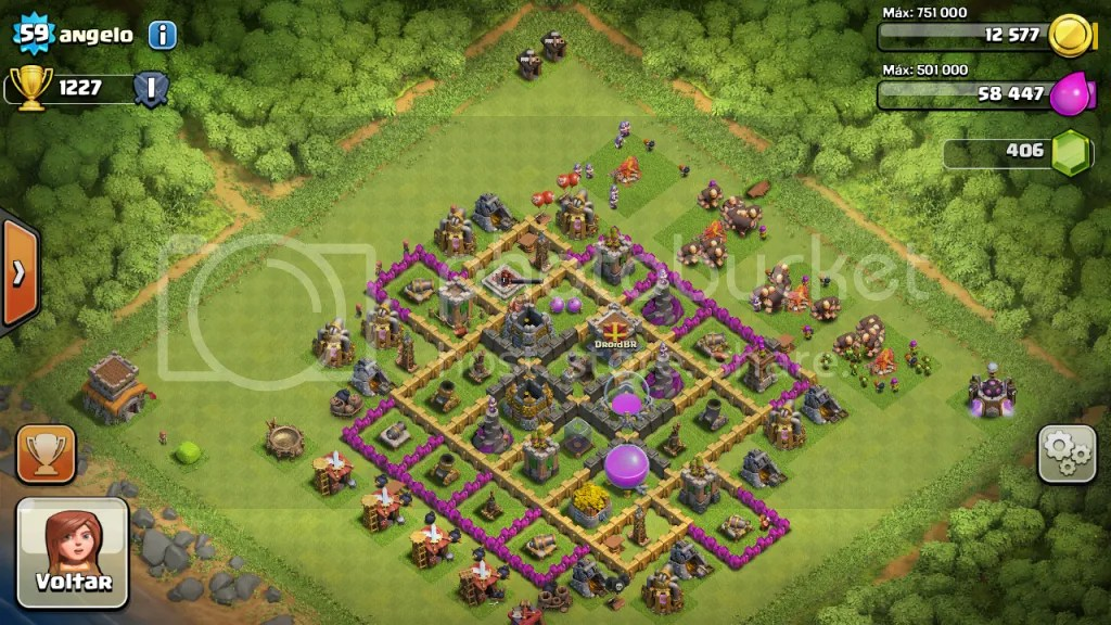 ViladoAngelo - Game Review: Clash of Clans: altamente viciante (iOs / Android)