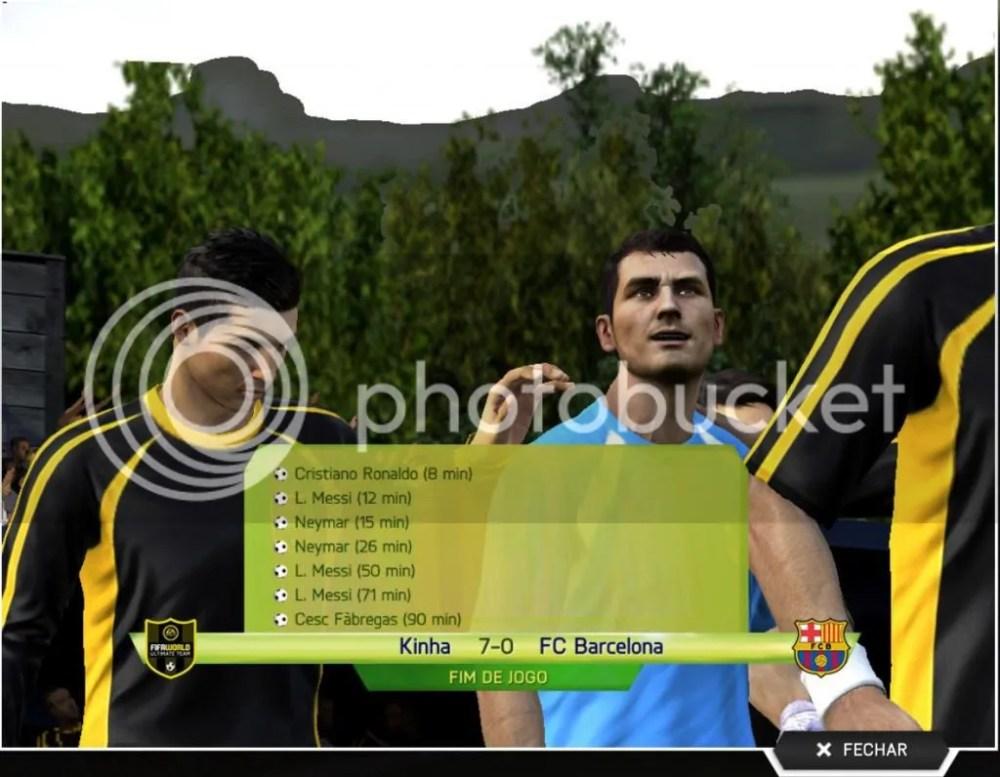 Fifa World Beta - Barcelona x Kinha