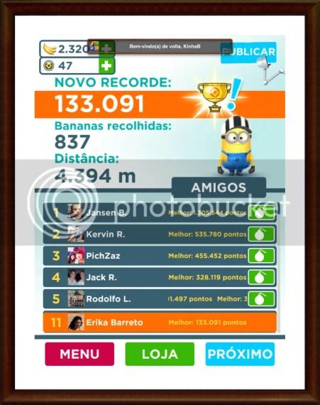 novorecorde - Game Review: Meu malvado favorito: Minion Rush (iOS)