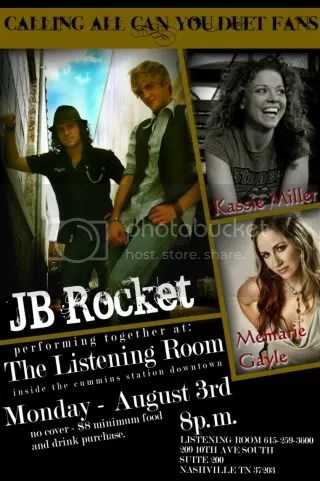 JB ROCKET WITH KASSIE AND MEMARIE! WOOWHOO