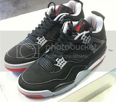 "9183290f45e8b8 DEADSTOCK Jordan ""Bred"" IV s from  99 for sale sz. 9  399 Shipped!"