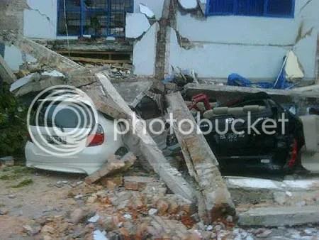 Foto-foto gempa Padang pasca gempa