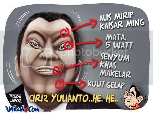 Ciri-ciri Yulianto yang disebut-sebut perantara uang Anggodo ke Ketua KPK, Kalau nemuin kayak begini cepat laporin ya gan !!!