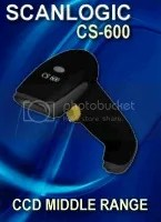 Barcode Scanner Scanlogic CS-600