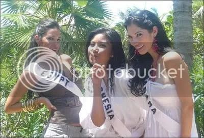 Putri Indonesia di Ajang Miss Universe 2009 Kepulauan Bahamas