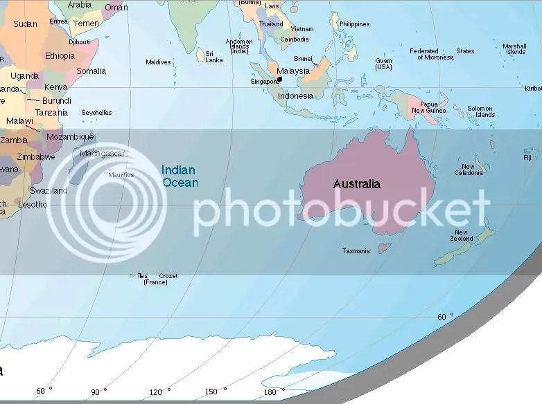 Posisi geografis Indonesia tergolong rentan dengan dampak langsung kerusakan Kutub Selatan Antartika