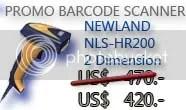 Barcode Scanner NLS-HR200 2 Dimensi