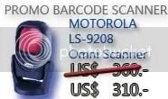 Barcode Scanner Motorola Symbol LS9208