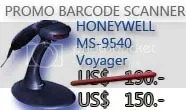 Barcode Scanner Metrologic MS9540