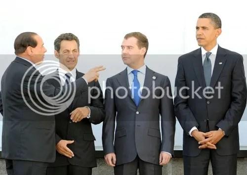 pemimpin dunia lagi berak