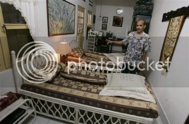 Inilah kamar tidur Berry panggilan akrab Obama saat tinggal di Jakarta selama 4 tahun 40 tahun silam