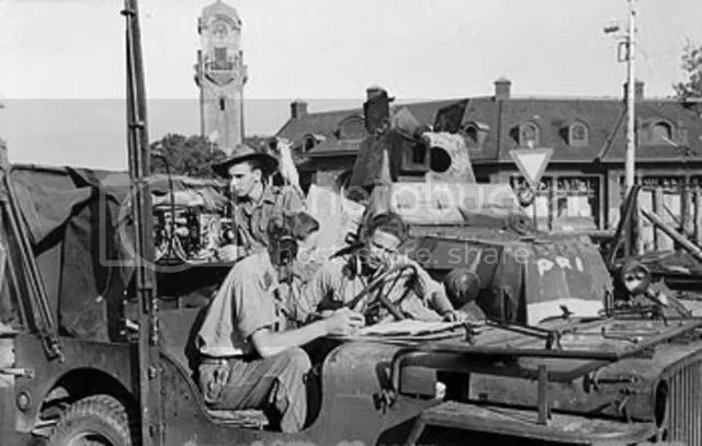 Tentara Inggris Sedang Menyusun Strategi untuk menguasai kota Surabaya