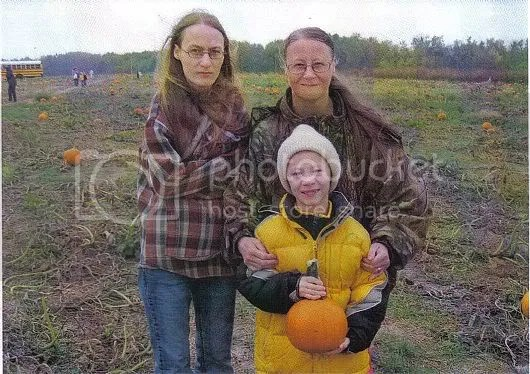 Last year at the pumpkin patch