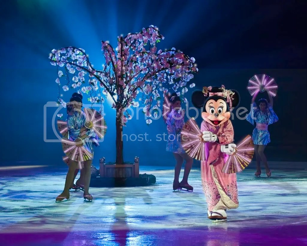 Sakura Disney on Ice