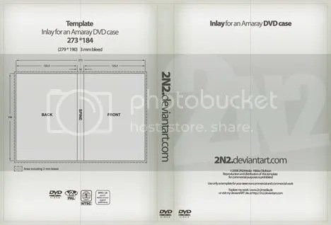 DVD Case Inlay by 2n2