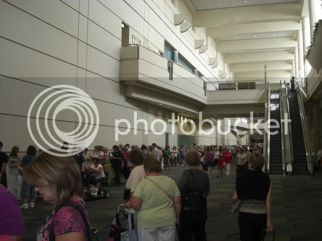 CHA craft show queue Florida