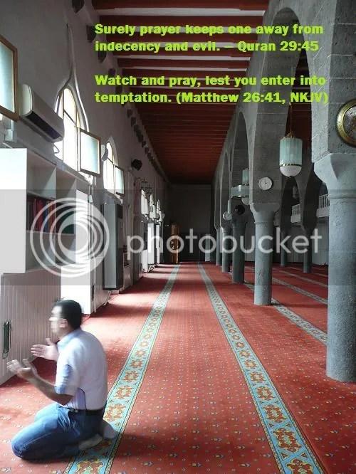 Prayer Preserves from Sin
