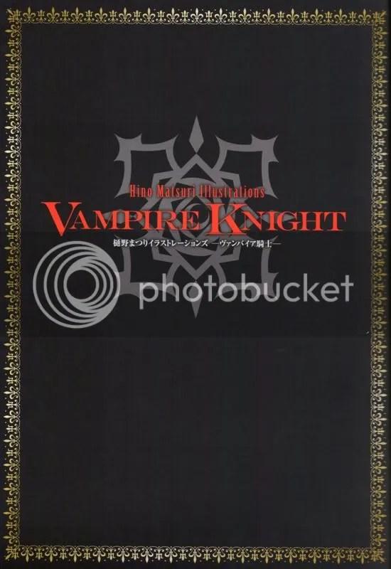 Sneak Peek] Hino Matsuri Illustrations 'Vampire Knight
