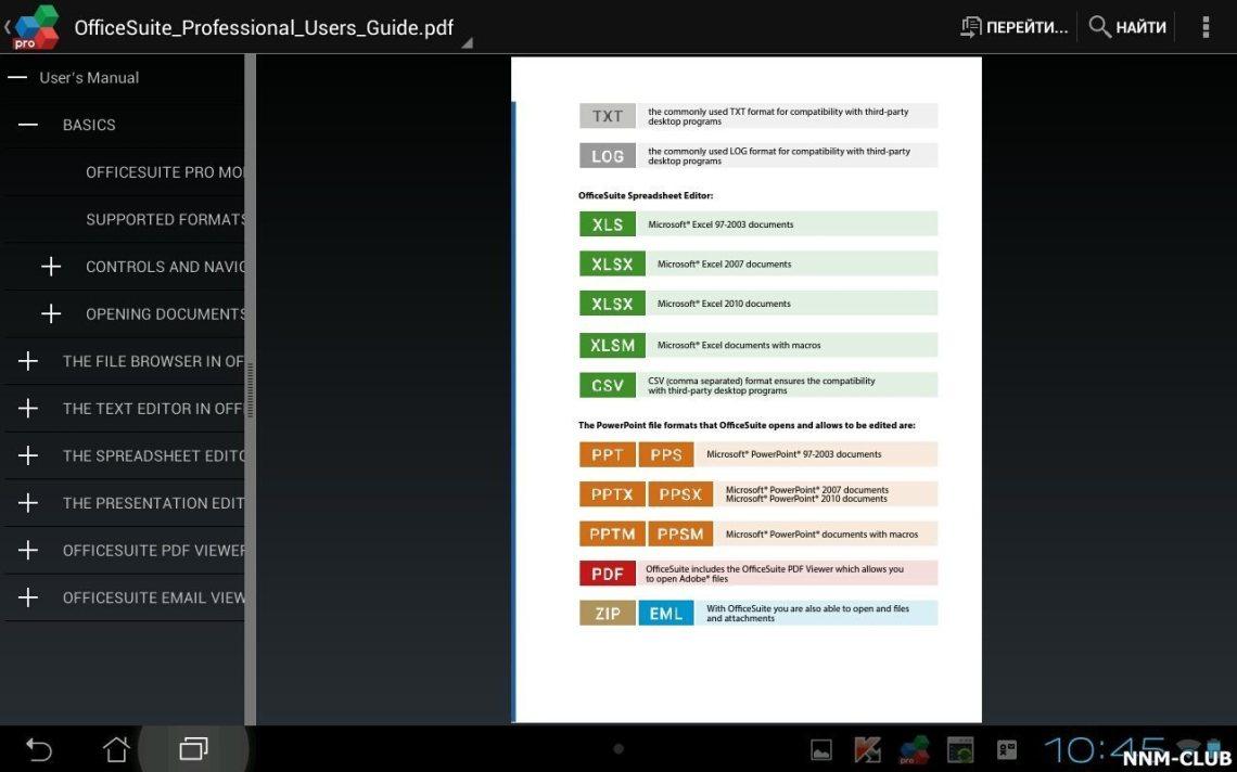 Download Офис OfficeSuite 8 + PDF Converter v8.3.4041 ...