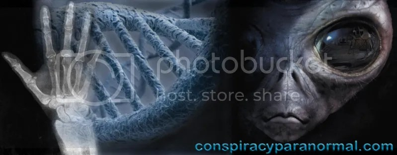 www.conspiracyparanormal.com banner link for conspiracyparanormal.blogspot.com blog, This 960 pixel wide banner depicting human and alien DNA splicing and human hybridization is posted on my Conspiracy Theories and Paranormal Phenomena blog at conspiracyparanormal.blogspot.com and is hyperlinked to my new website www.conspiracyparanormal.com