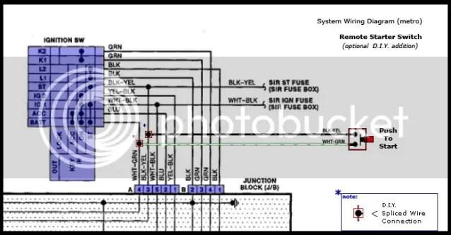 remoteswitchsplice inwiring1?resize=638%2C332 95 geo metro stereo wiring diagram wiring diagram Wiring-Diagram 1995 Geo Metro at bayanpartner.co