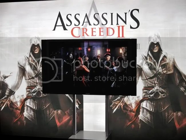 Assassin's Creed 2. Kill guys in porcelain party masks