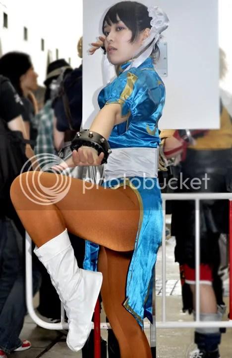 Street Fighter Chun Li Cosplay nice legs