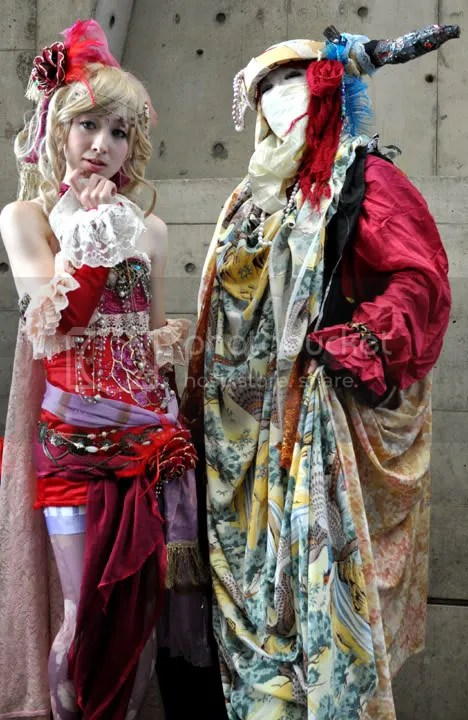 Final Fantasy 6 Terra with Go-Go Cosplay That crazy mime