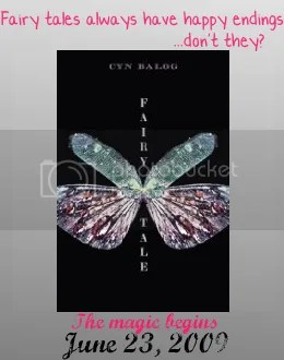 http://www.amazon.com/Fairy-Tale-Cyn-Balog/dp/0385737068/ref=sr_1_3?ie=UTF8&s=books&qid=1239471640&sr=1-3