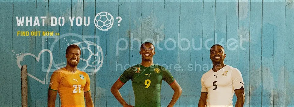 1891753fef6 According to a press release from Puma on the 2010 African team kits: