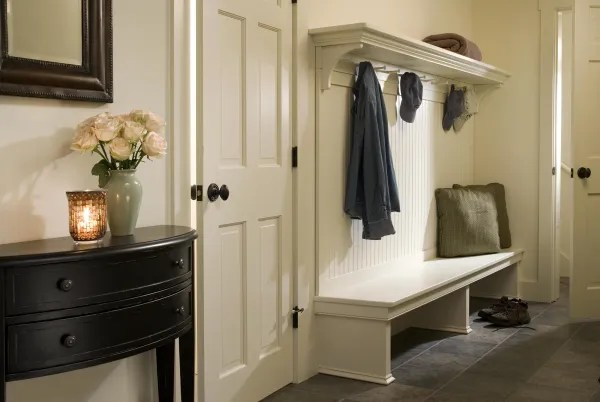 mudroom storage bench ideas