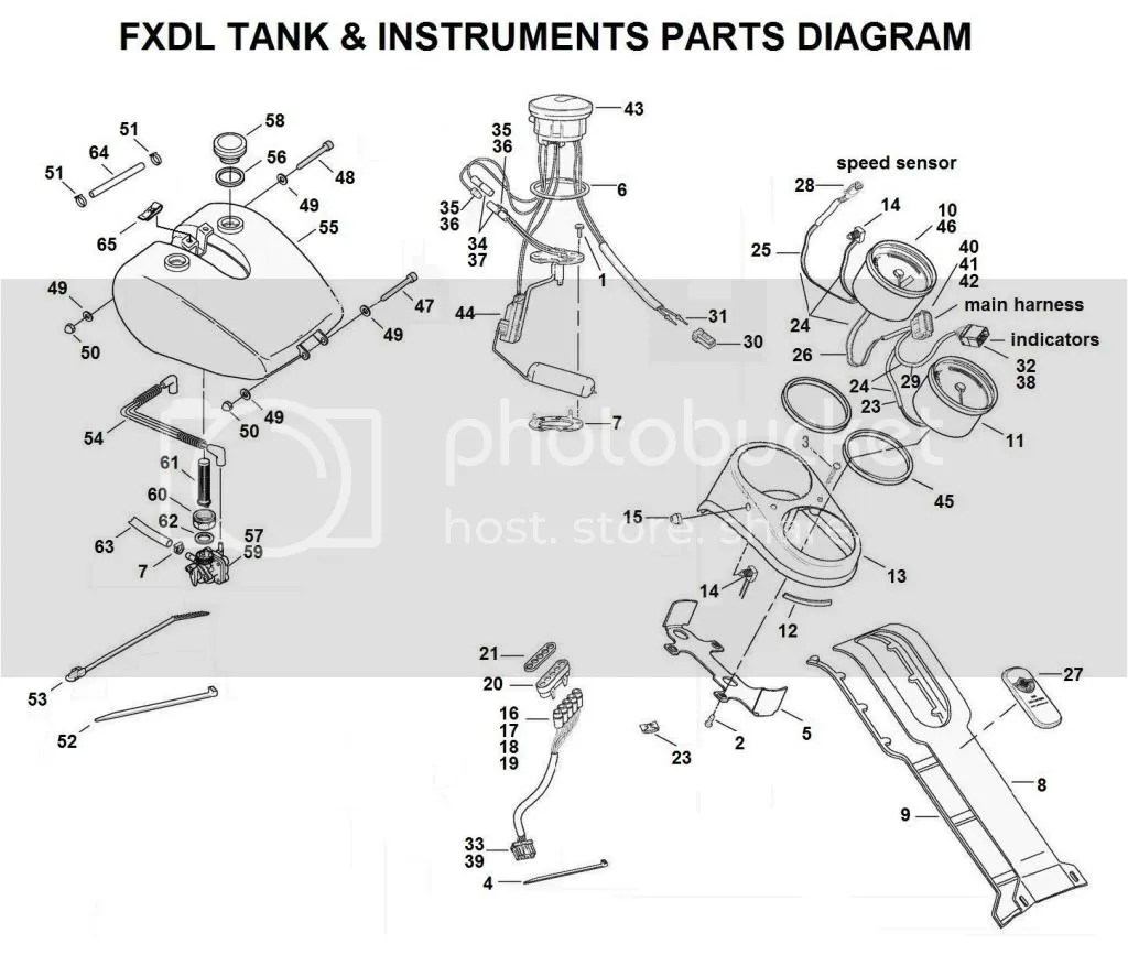 Fxd Gt Fxdl Fuel Tank Conversion
