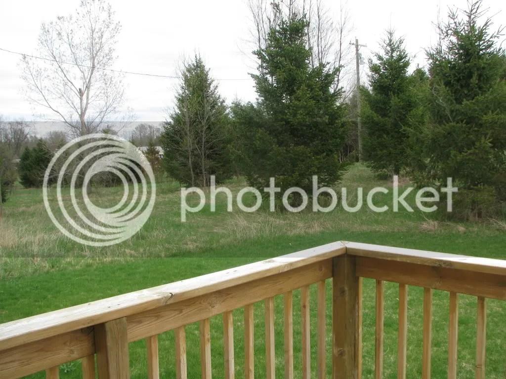 Back view 6111 N Oceana Dr Hart, MI