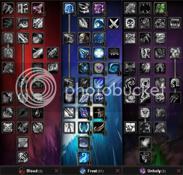Frost Death Knight Tanking Spec, Level 70