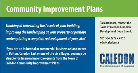 Community Improvement Plans