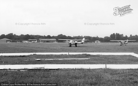 The Airfield at Denham, c1965